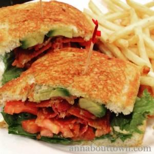 Ruby's BLTA sandwich